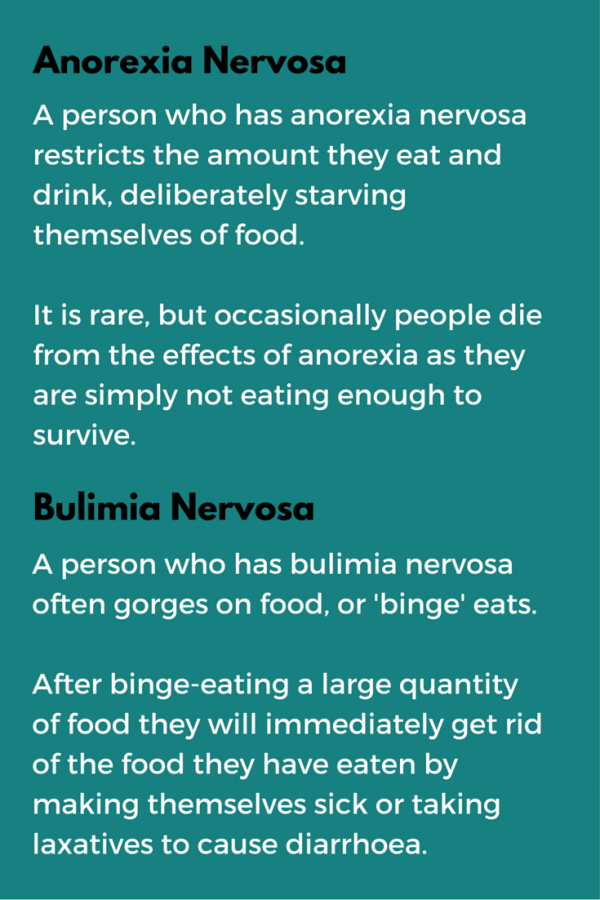 the main features of bulimia Explore information about eating disorders, including signs and symptoms, treatment  this program supports research on the etiology, core features.