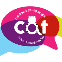 CAT logo 2020 with speech bubble